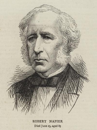 Robert Napier--Giclee Print