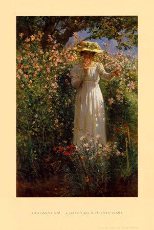 Summer's Day in the Flower Garden