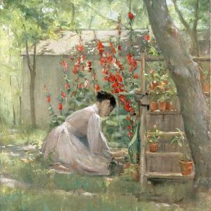 Tending the Garden by Robert Payton Reid