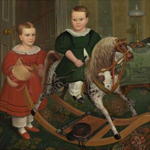 The Hobby Horse, ca. 1840 by Robert Peckham