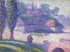 Mydlow Village, Poland, 1907 by Robert Polhill Bevan