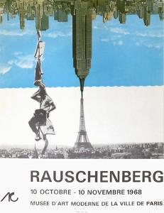 Expo 68 - Musée d'Art Moderne Paris by Robert Rauschenberg