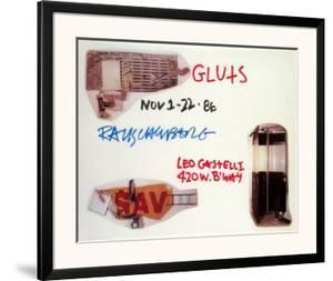 Gluts by Robert Rauschenberg