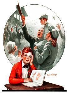 """""""Daydreams of Baseball,""""May 9, 1925 by Robert Robinson"""