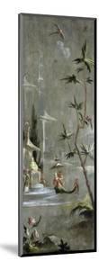 Decorative Chinoiserie Panel, Woman in Exotic Eastern Dress c.1674-1700 by Robert Robinson