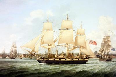 Shipping the Mersey Circa 1814