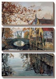 Brugge Reflections by Robert Schaar
