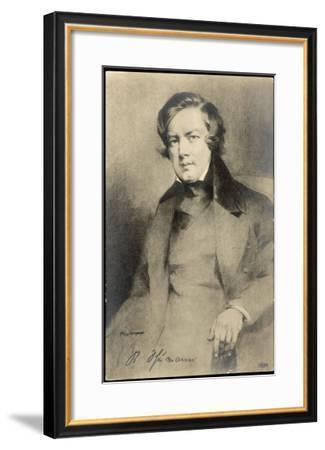 Robert Schumann German Musician--Framed Giclee Print