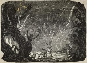 Witch Conjures up Visions Which Terrify a Client by Robert Seymour