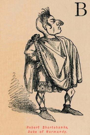 'Robert Shortshanks, Duke of Normandy', c1860, (c1860)-John Leech-Giclee Print