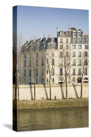 Apartments on the River Seine in Paris, France