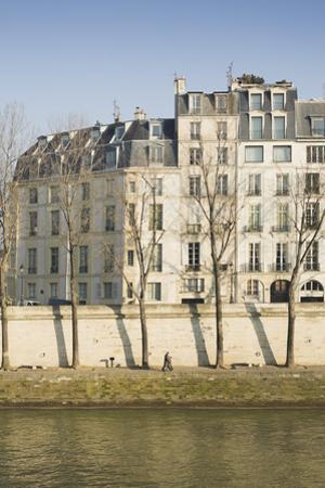Apartments on the River Seine in Paris, France by Robert Such