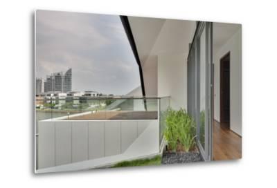 Modern Residential Balcony Exterior, Sentosa Island, Singapore, Asia