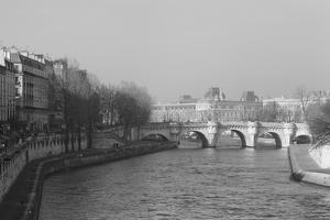 Pont Neuf over the River Seine, Paris, as Seen from the Boulevard Du Palais on the Pont Au Change by Robert Such