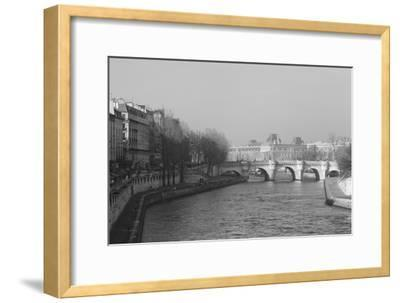 Pont Neuf over the River Seine, Paris, as Seen from the Boulevard Du Palais on the Pont Au Change