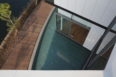 Water Feature or Pool of a Modern Residential Exterior