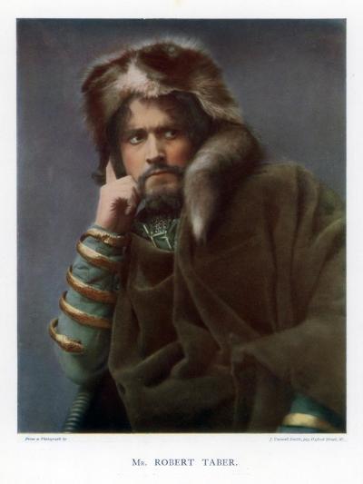 Robert Taber, Actor, 1901-J Caswall Smith-Giclee Print