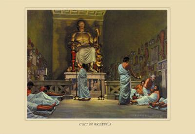 Cult of Asclepius by Robert Thom
