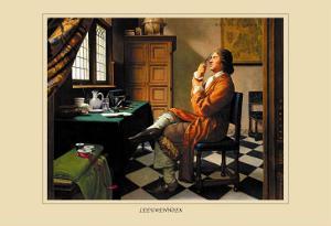 Leeowenhoek by Robert Thom