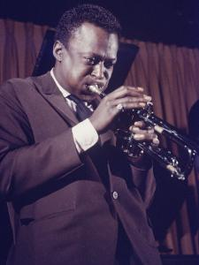 Jazz Musican, Miles Davis by Robert W. Kelley