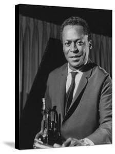 Jazz Musician Miles Davis by Robert W. Kelley