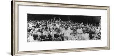 Newsboys Wearing Super Specs Watching Baseball Game