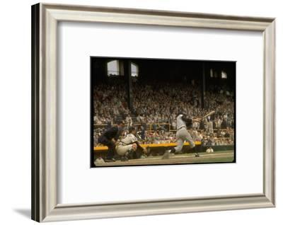 NY Yankees Right Fielder Roger Maris Against Detroit Tigers During Record Breaking 61 Homer Season