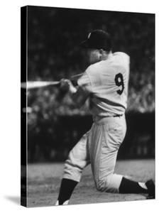 NY Yankees Right Fielder Roger Maris Hitting His 58th Home Run in Game Against Detroit Tigers by Robert W. Kelley