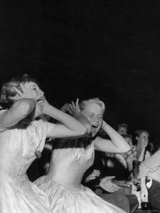 Teenagers Screaming and Yelling During Elvis Presley's Personal Appearance at the Florida Theatre by Robert W. Kelley