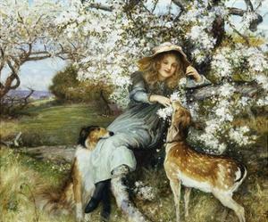 Fair Pledges of a Fruitful Tree by Robert Walker Macbeth