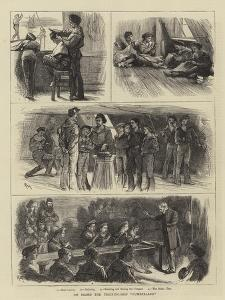 On Board the Training-Ship Cumberland by Robert Walker Macbeth