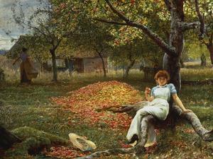 The Cider Orchard, 1848-1910 by Robert Walker Macbeth