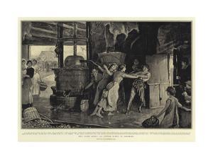 The Cider Press, an Autumn Scene in Somerset by Robert Walker Macbeth