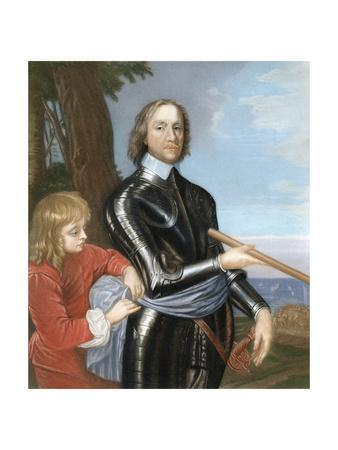 Oliver Cromwell, English Military Leader and Politician, 1649