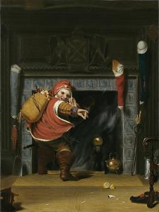 Santa Claus or St. Nicholas, 1837 by Robert Walter Weir