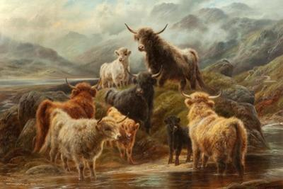 Highland Cattle, 1894 by Robert Watson