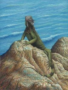 Iguana by Robert Wavra