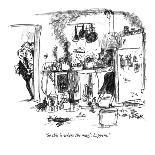 """Push me, Dad.  Mozart was pushed."" - New Yorker Cartoon-Robert Weber-Premium Giclee Print"