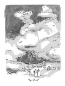 """""""Superb Martinis!"""" - New Yorker Cartoon by Robert Weber"""