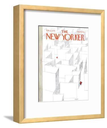 The New Yorker Cover - February 13, 1978