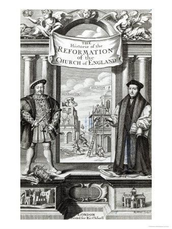 Titlepage of The History of the Reformation of the Church of England