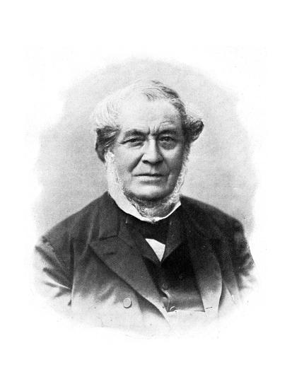 Robert Wilhelm Bunsen, 19th Century German Chemist--Giclee Print