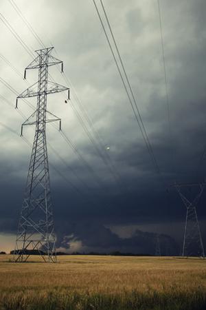 Utility Sky by Roberta Murray