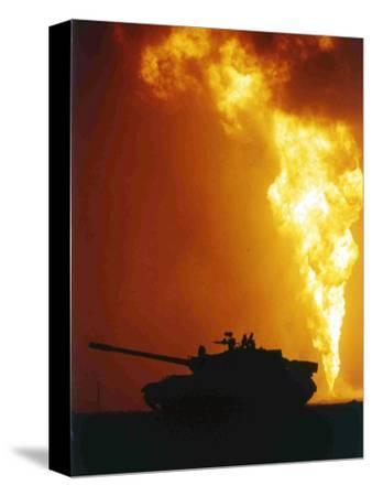 Kuwait Burning Oil Well