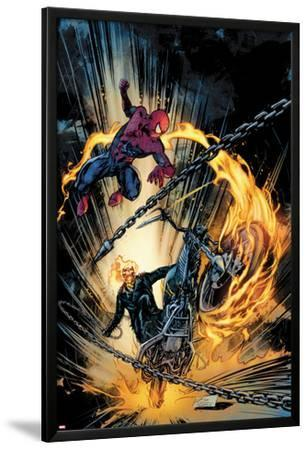 Amazing Spider-Man and Ghost Rider: Motorstorm No.1 Cover