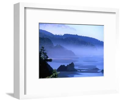 Arcadia Beach Coastline from Silver Point, Oregon, USA