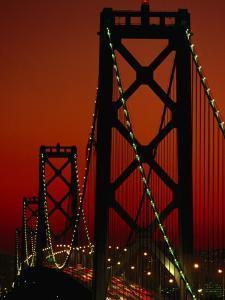 Bay Bridge from Treasure Island, San Francisco, California, USA by Roberto Gerometta