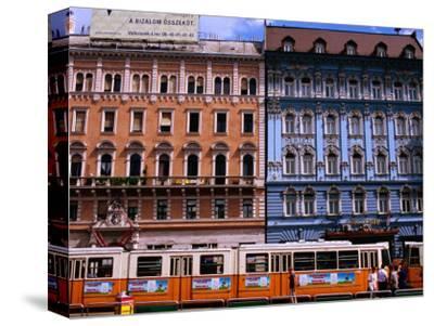 Blaha Luijza Square with Hotel Mercure on Right, Budapest, Pest, Hungary,
