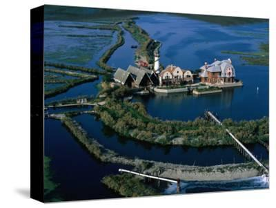Centre of Aquiculture Estate on Lagoon of Venice, Veneto, Italy