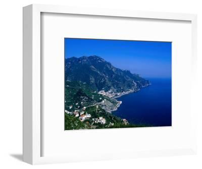 Coastline South of Ravello, Ravello, Campania, Italy